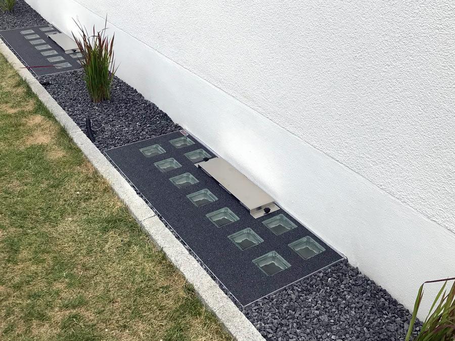 Schutz vor Regenwasser durch Wasserschutzdeckel